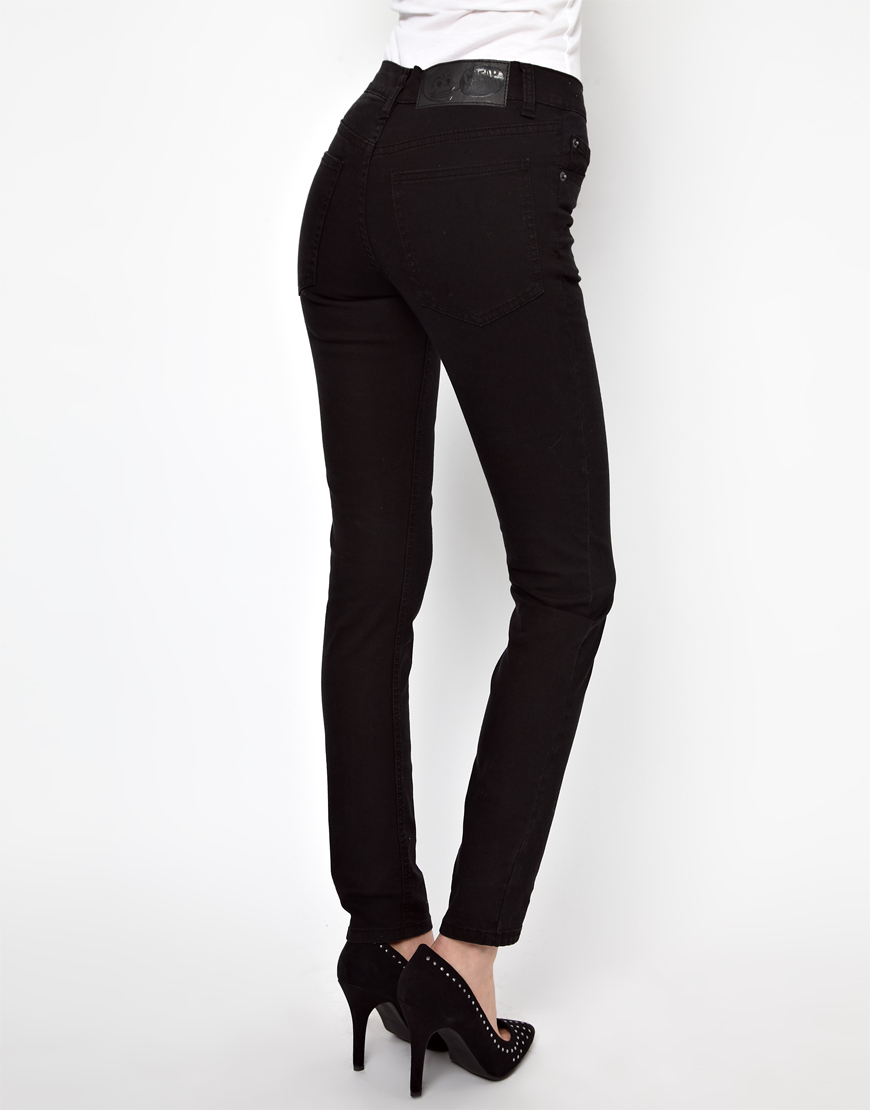 Asos Cheap Monday Tight Skinny Jeans in Black | Lyst