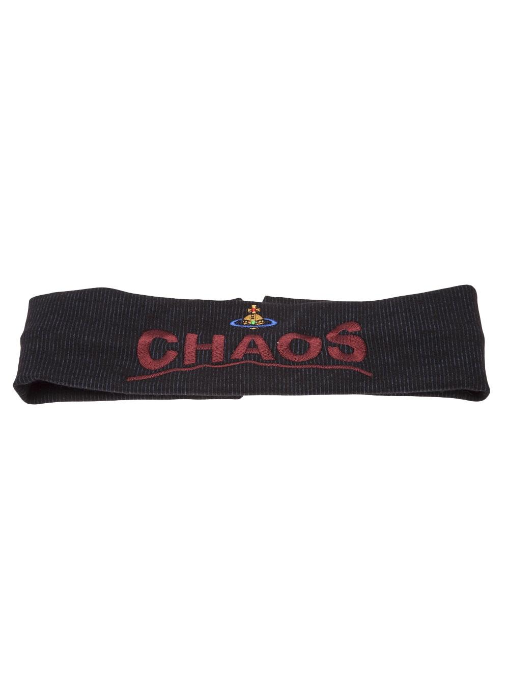 Lyst Vivienne Westwood Chaos Headband In Black
