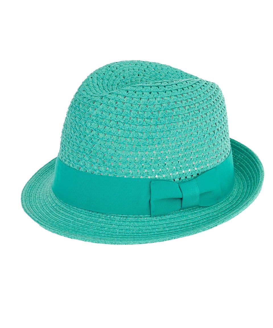 c587aa0022458f Lyst - Christys' Mint Lovell Crochet Trilby Hat in Green