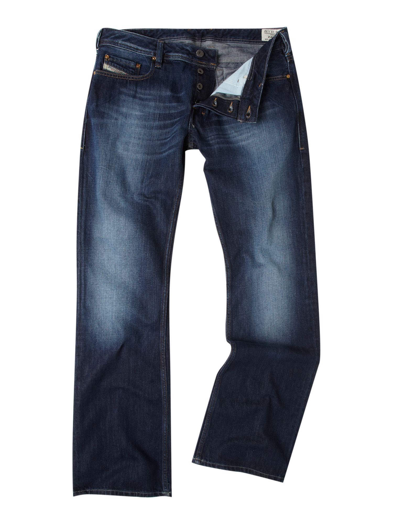 Mens Dark Wash Bootcut Jeans - Xtellar Jeans