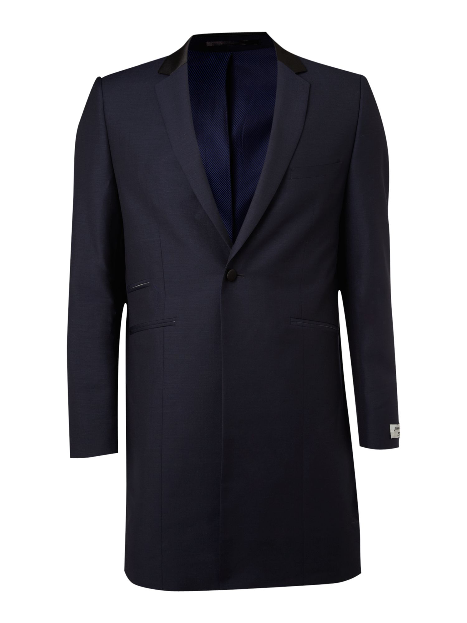Farrell Mullery Mohair Frock Coat In Blue For Men Lyst