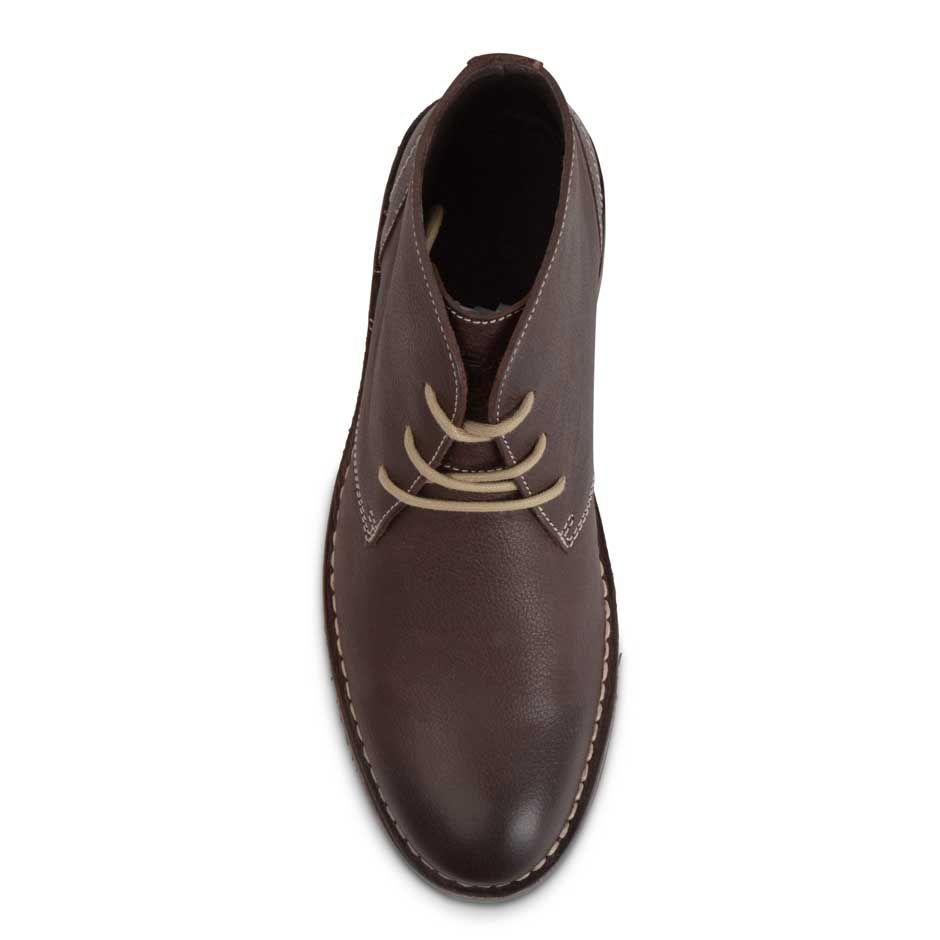 Henri Lloyd Strathmore Derby Boots In Brown For Men Dark