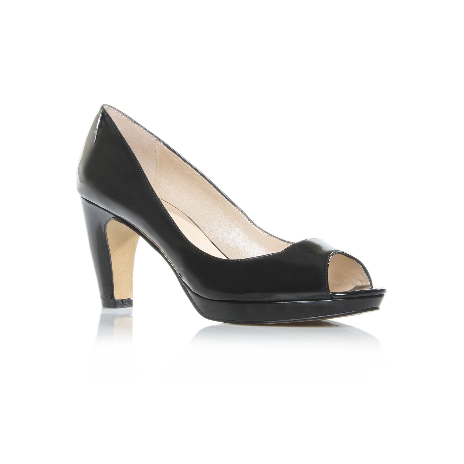 nine west shipshape3 court shoes in black lyst