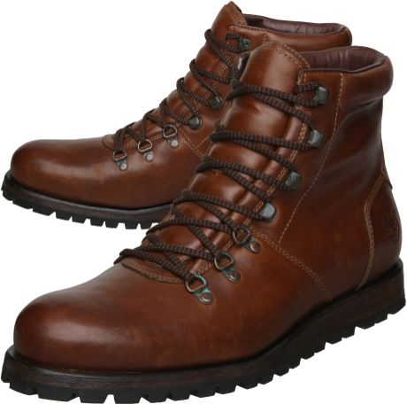 timberland casual boots in brown for men tan  lyst