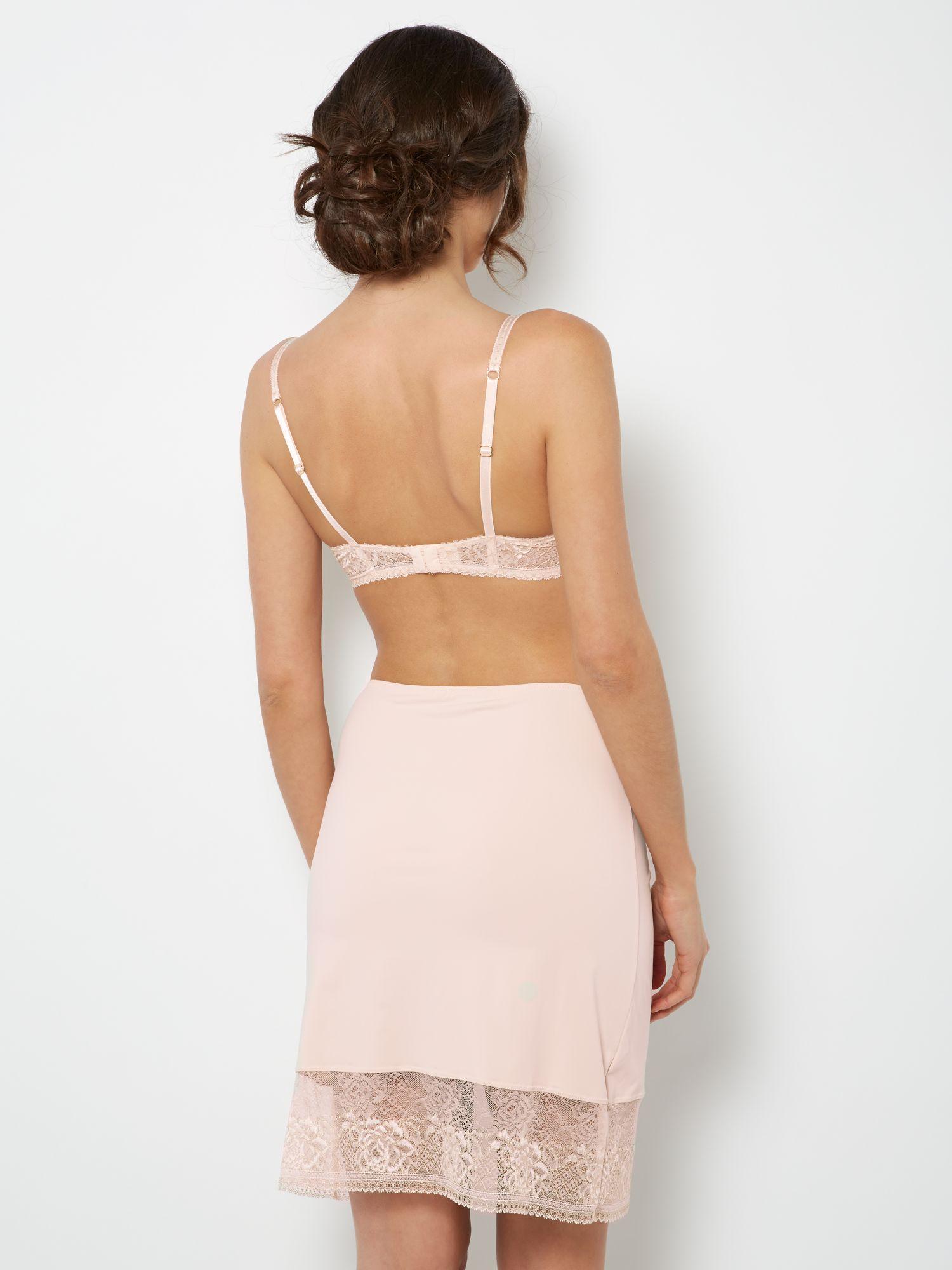 Untold Lace Half Slip in Pink - Lyst