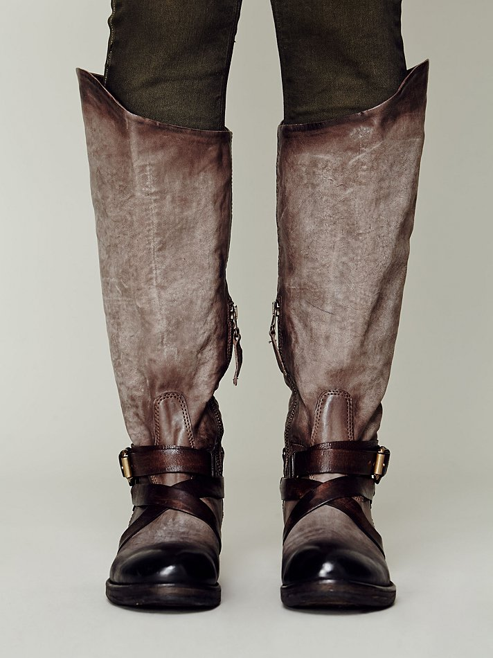 Free People Wakefield Tall Boot in Grey (Grey)