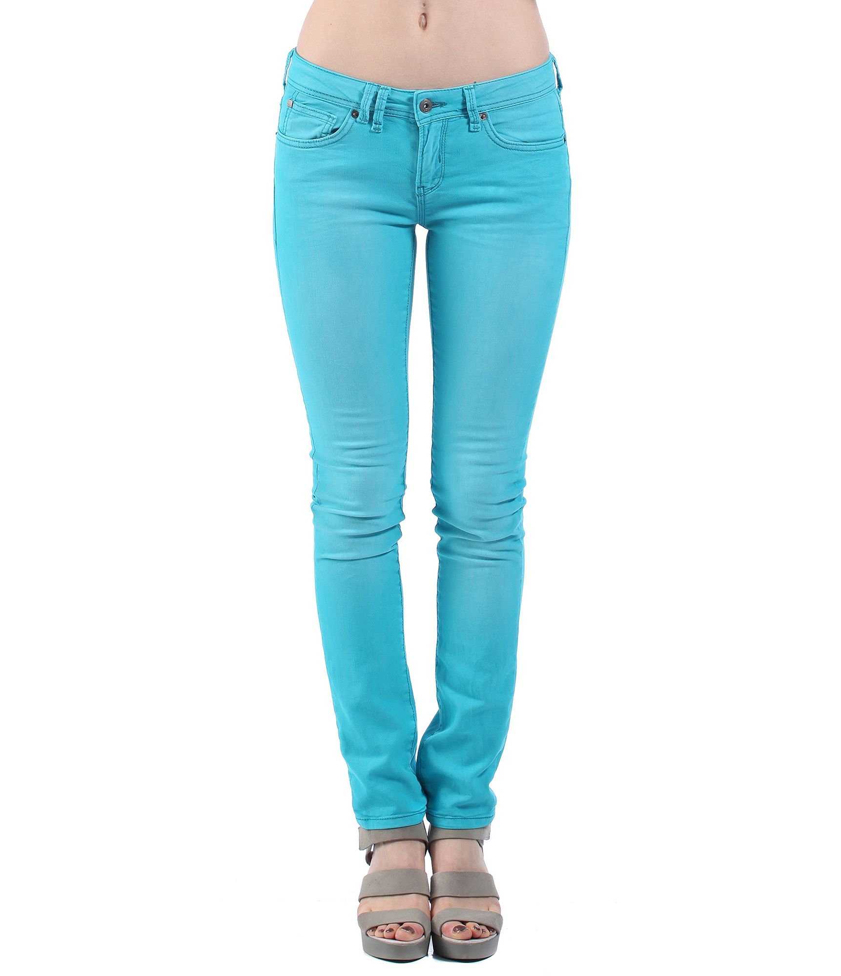 bench womens fret v12 slim fit jeans in blue lyst