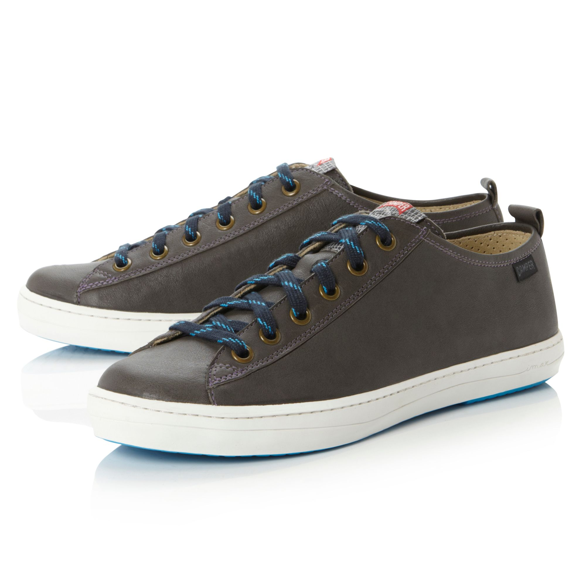 Camper Imar Hiker Lace Trainers in Navy (Grey) for Men