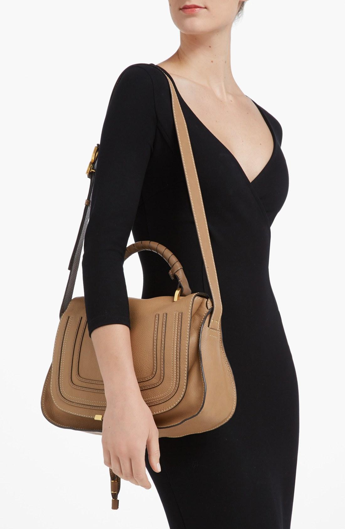 chloe medium marcie satchel chloe replica bags. Black Bedroom Furniture Sets. Home Design Ideas