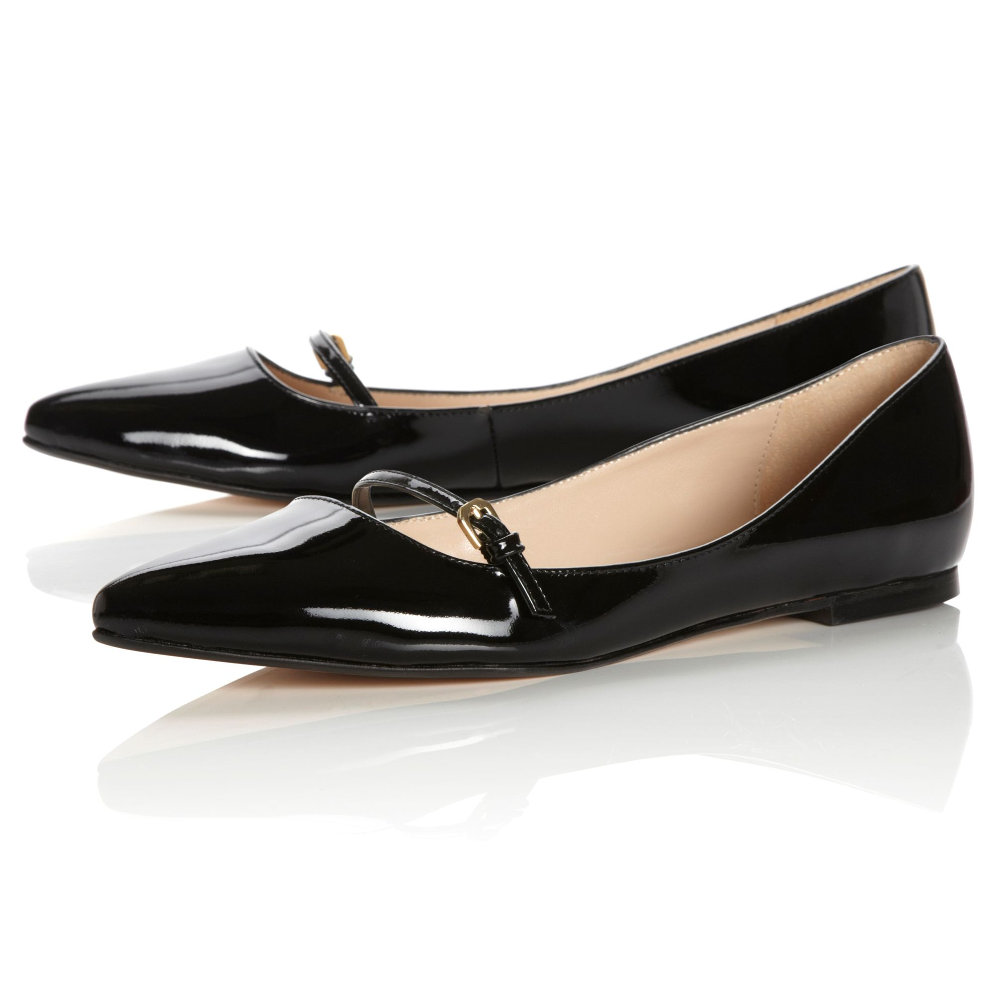 Black Patent Leather Shoes Play