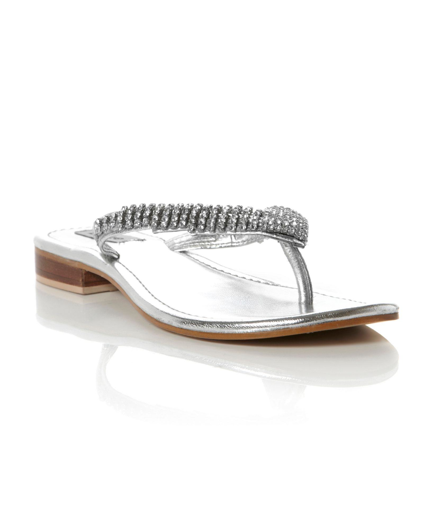 Carvela Diamante Flip Flops
