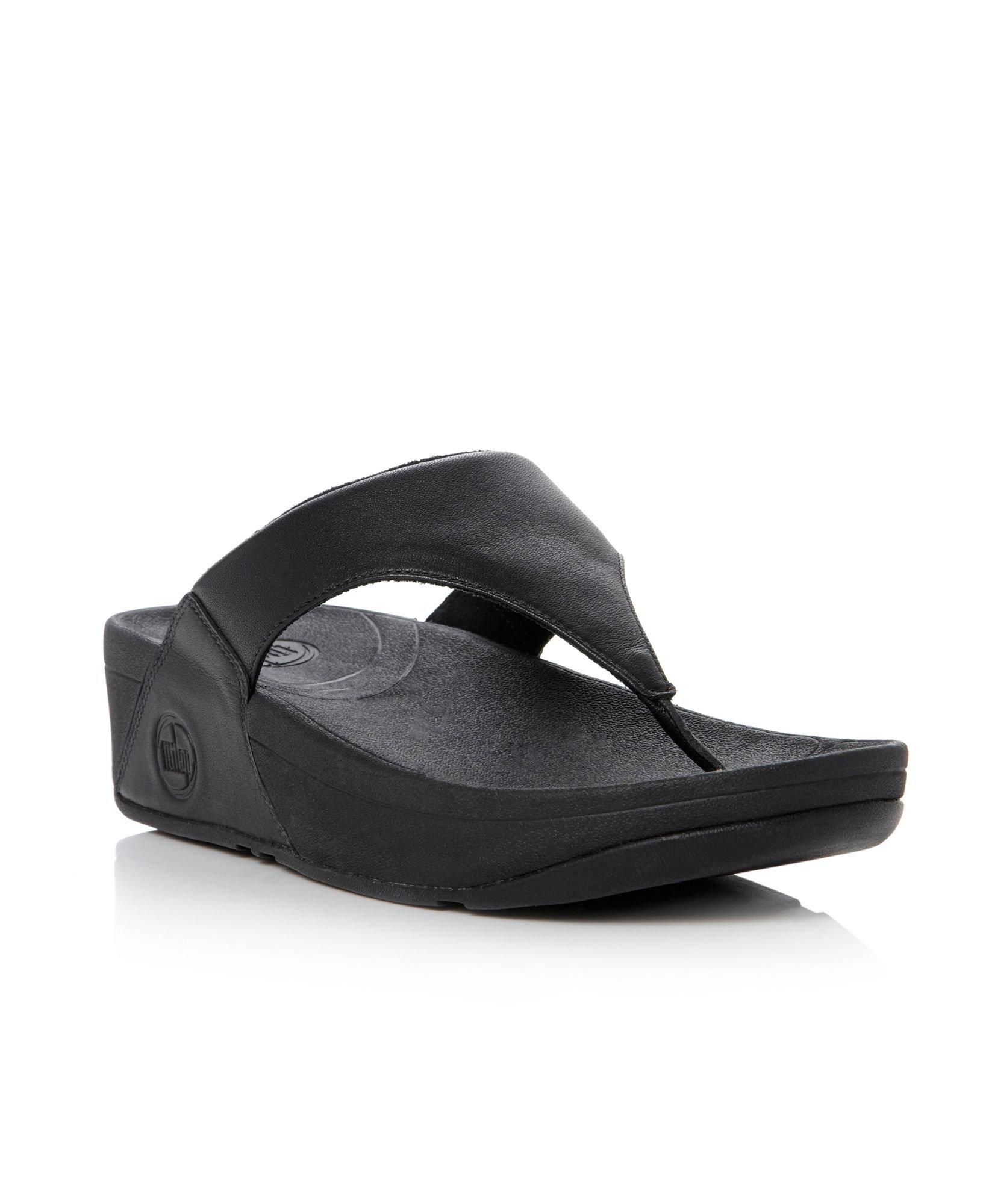 8e3c254631472e Fitflop Lulu Black Leather