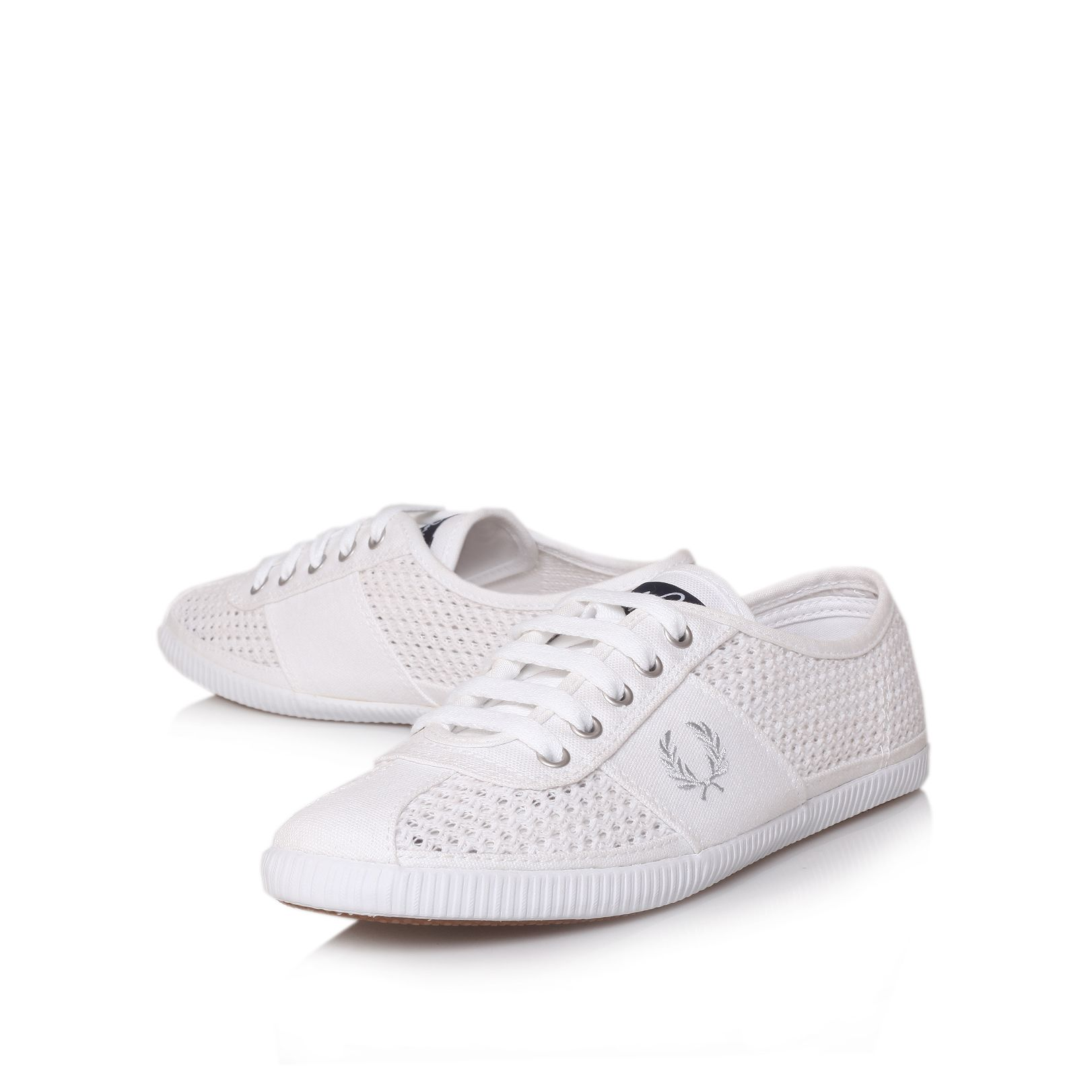 Fred Perry Hayes Trainer Shoes in White for Men