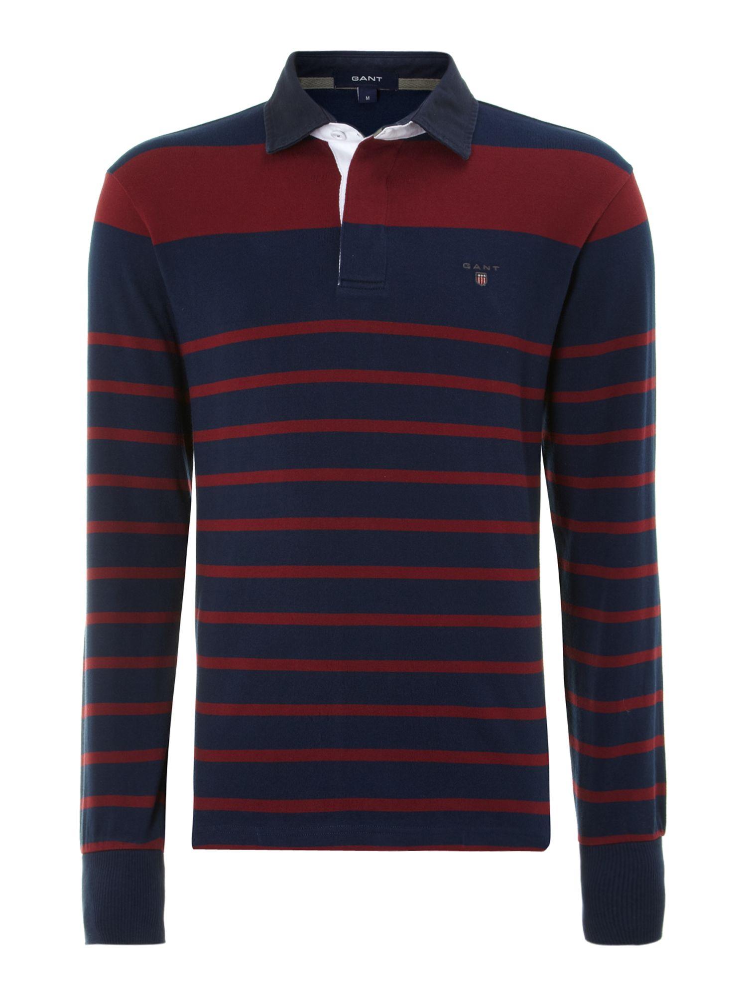 Long Sleeve Striped T Shirt Men