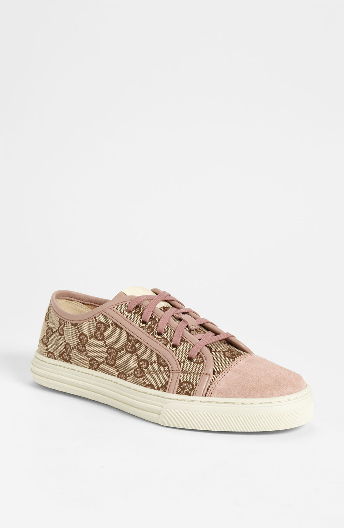Gucci California Low Sneaker in Natural | Lyst