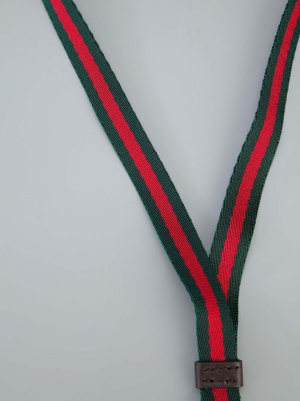 Gucci Long Branded Keychain in Red for Men - Lyst