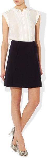 hobbs bliss skirt in black navy lyst