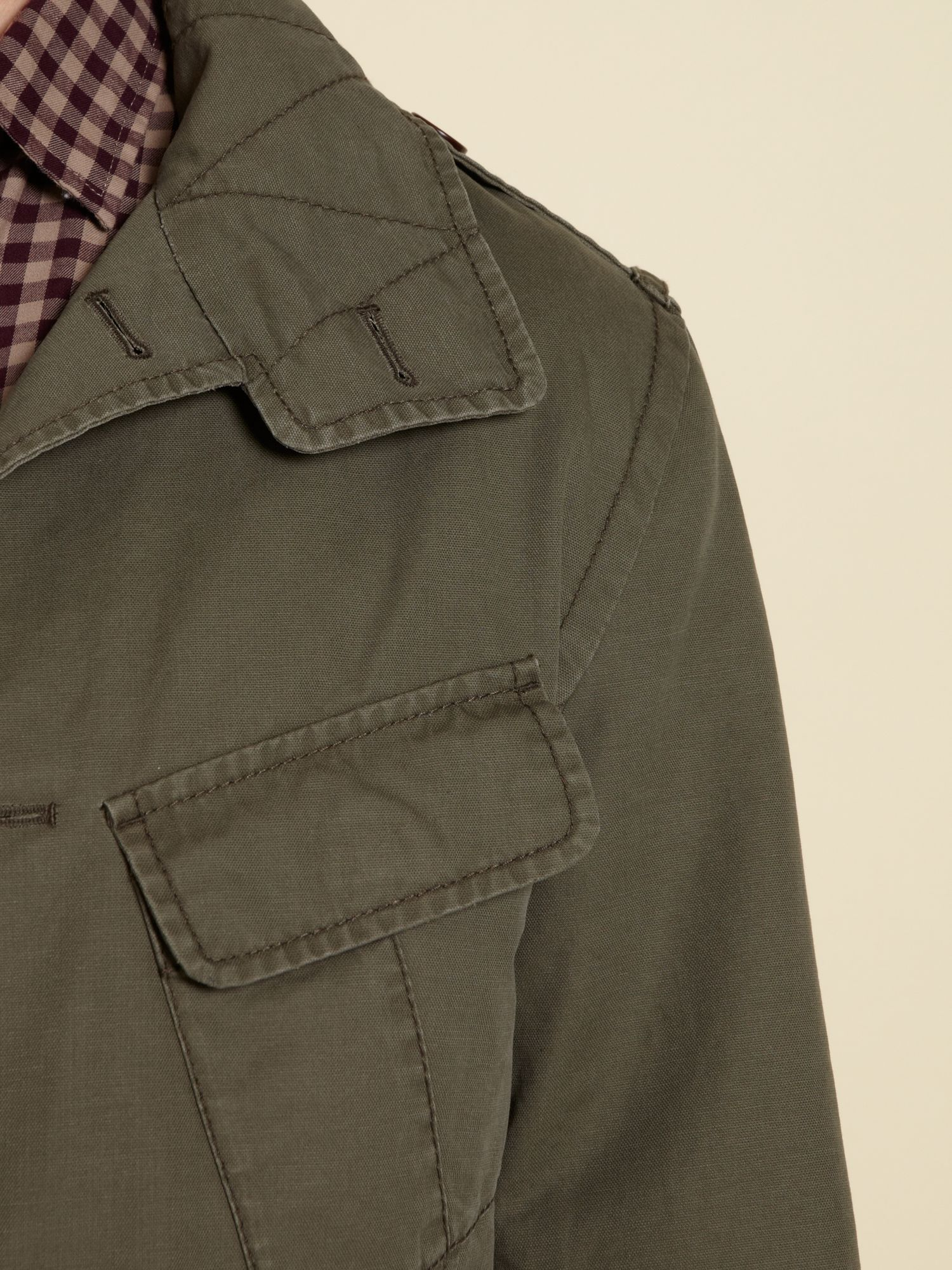 Howick Savannah Jacket in Army (Green) for Men