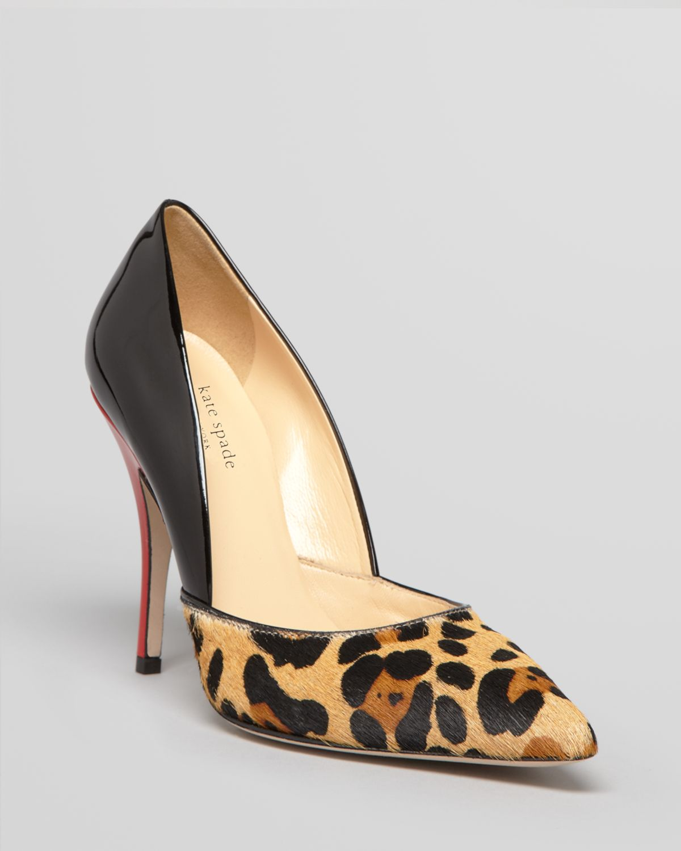 Kate Spade New York Leopard Pointed-Toe Pumps buy online new cheap nicekicks 9PLif