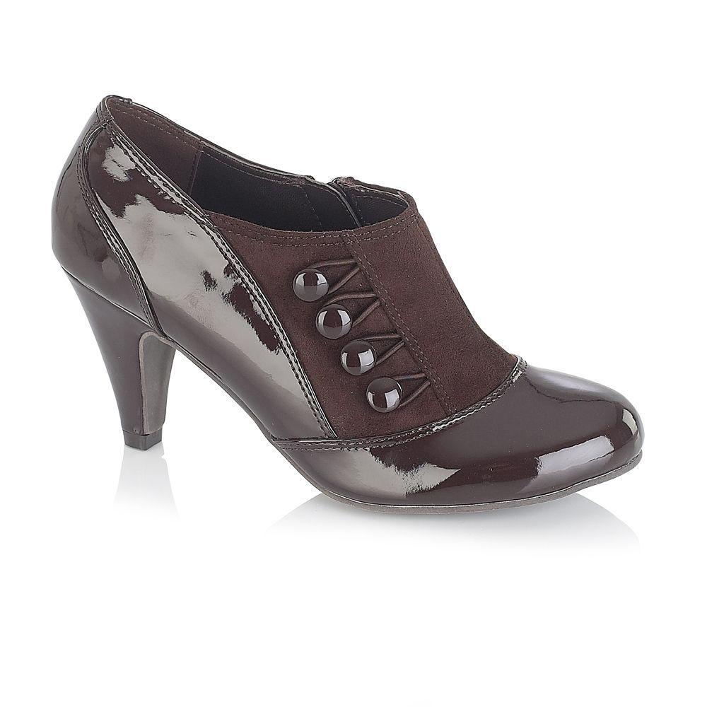 lotus nemoli shoe in black brown lyst
