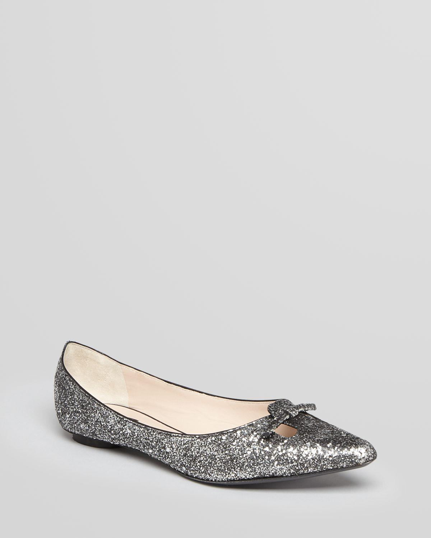 Marc Jacobs Glitter Ballet Flats nv5OU