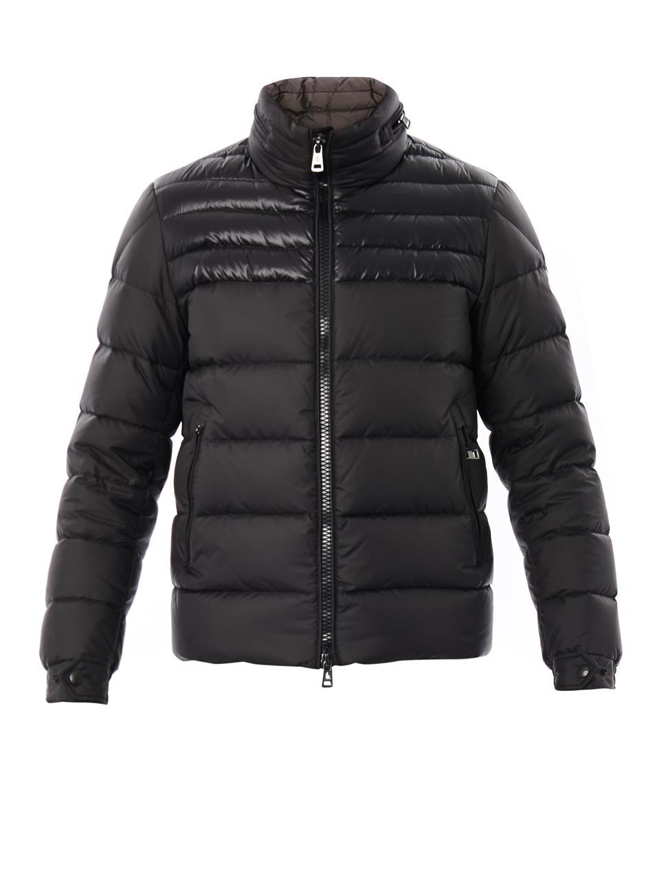 Moncler Dinant Down Jacket In Black For Men Lyst