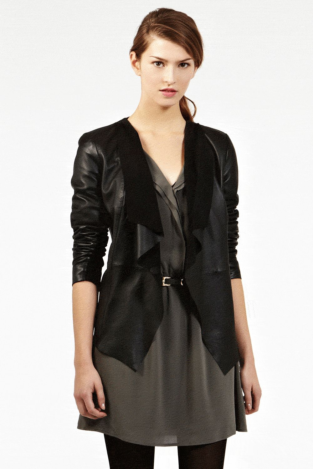 Find great deals on eBay for black leather waterfall jacket. Shop with confidence.