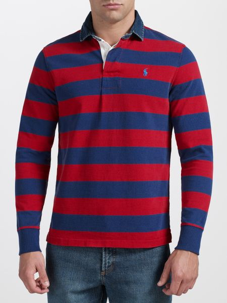 Mens Long Sleeve Rugby Shirts
