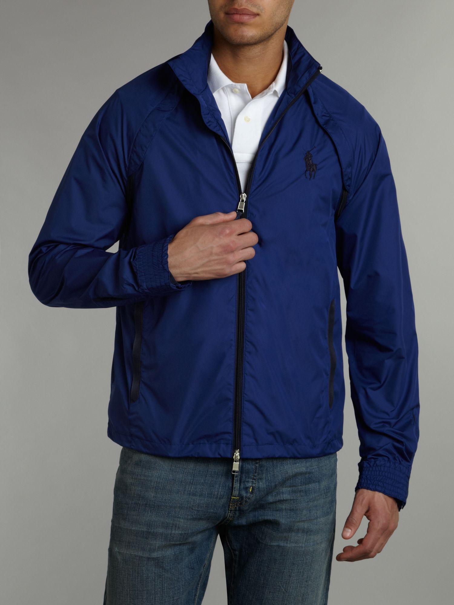 Ralph lauren golf Convertible Golf Windbreaker Jacket in Blue for ...