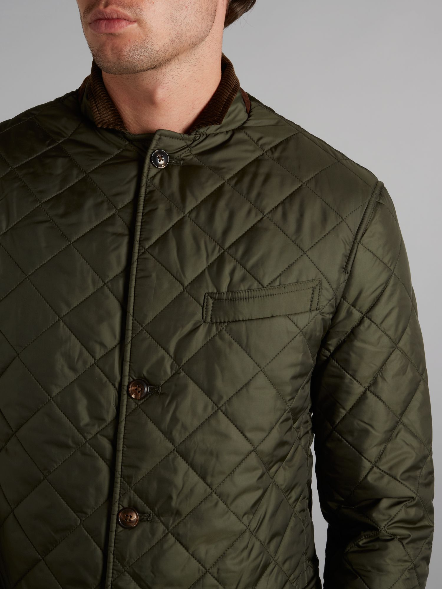 Polo ralph lauren Quilted Blazer in Green for Men | Lyst : ralph lauren quilted blazer - Adamdwight.com