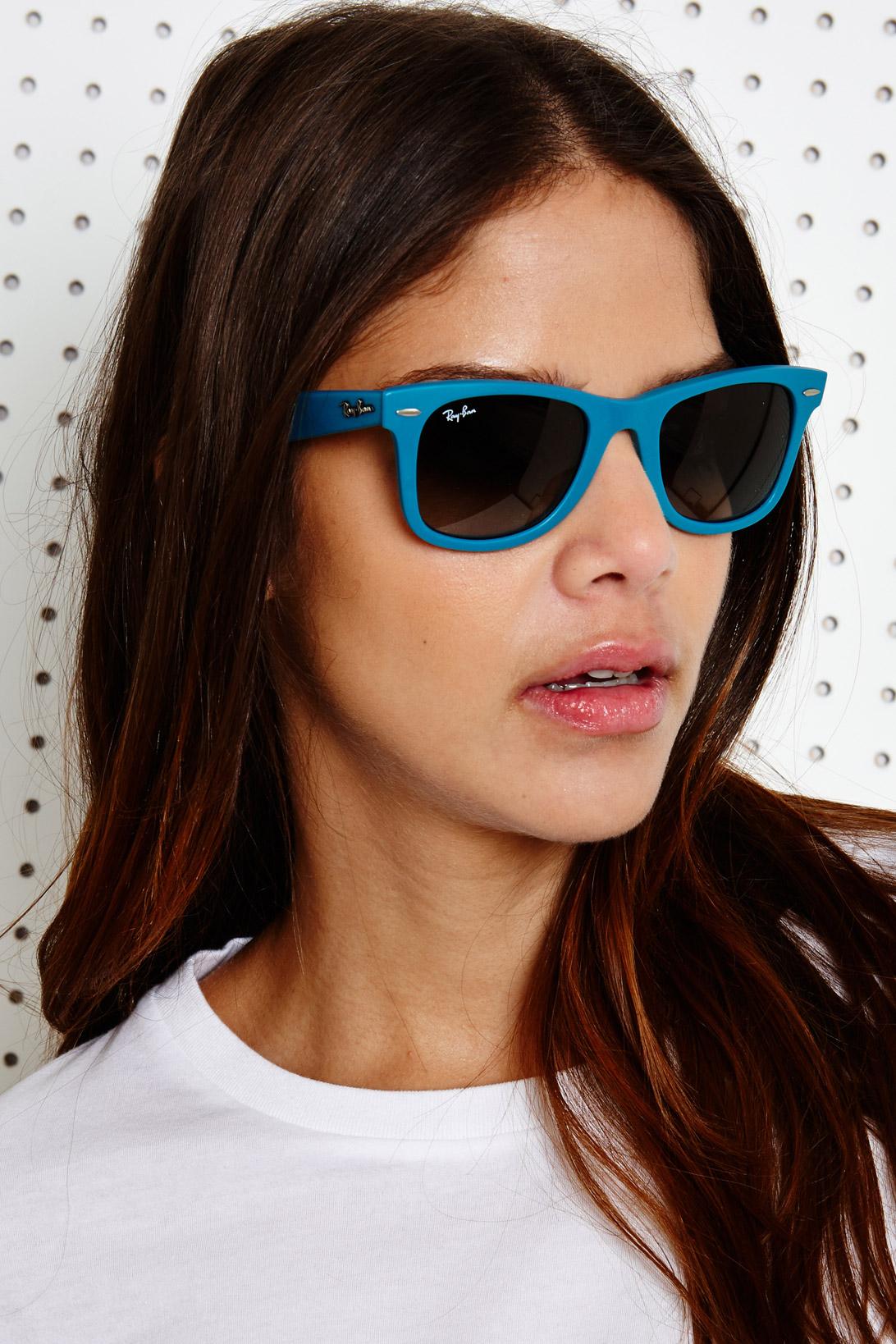 ce9b61dce0 Ray-Ban Erika Velvet Sunglasses - Violet in Blue - Lyst