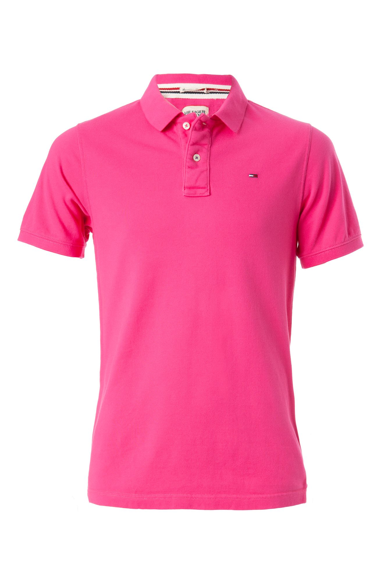tommy hilfiger pilot polo in pink for men fuchsia lyst. Black Bedroom Furniture Sets. Home Design Ideas