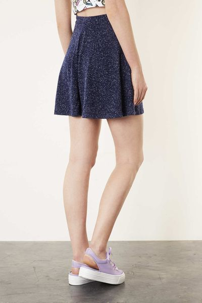 Side Riffle Polka Dot Dress - Midi-Length / Three Quarter Length Sleeves