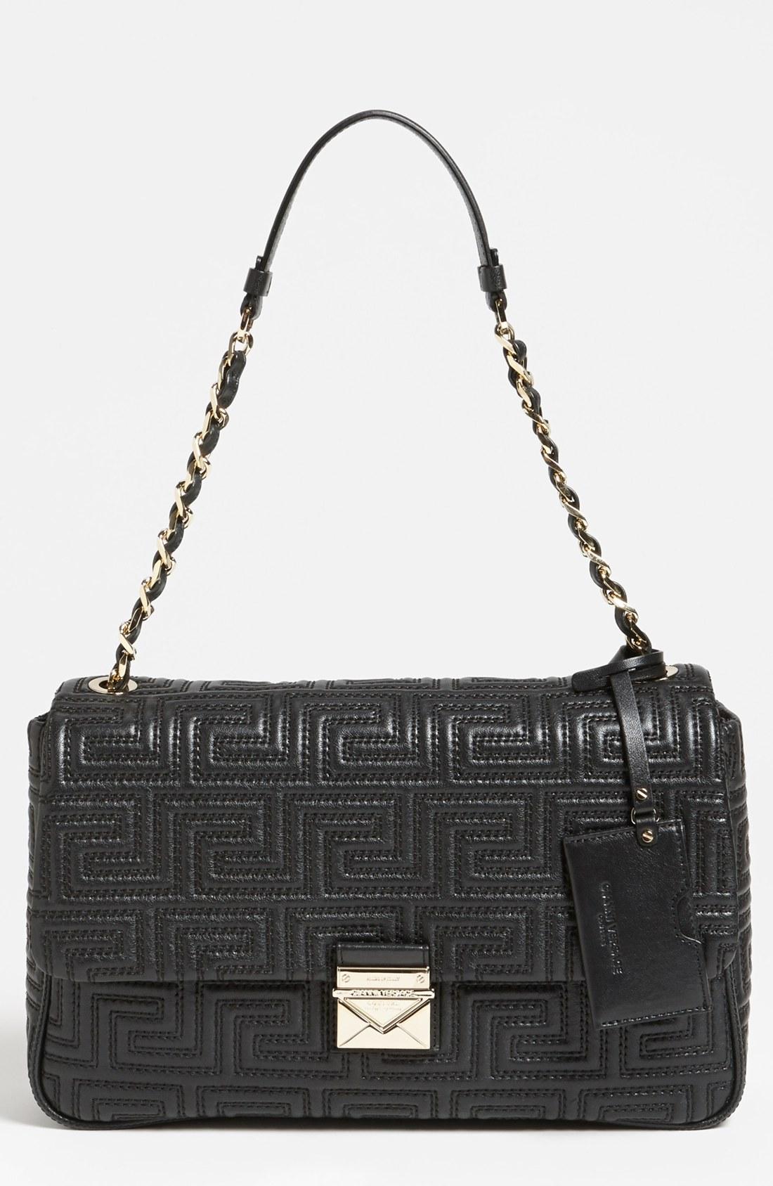 Versace Black Shoulder Bag 18