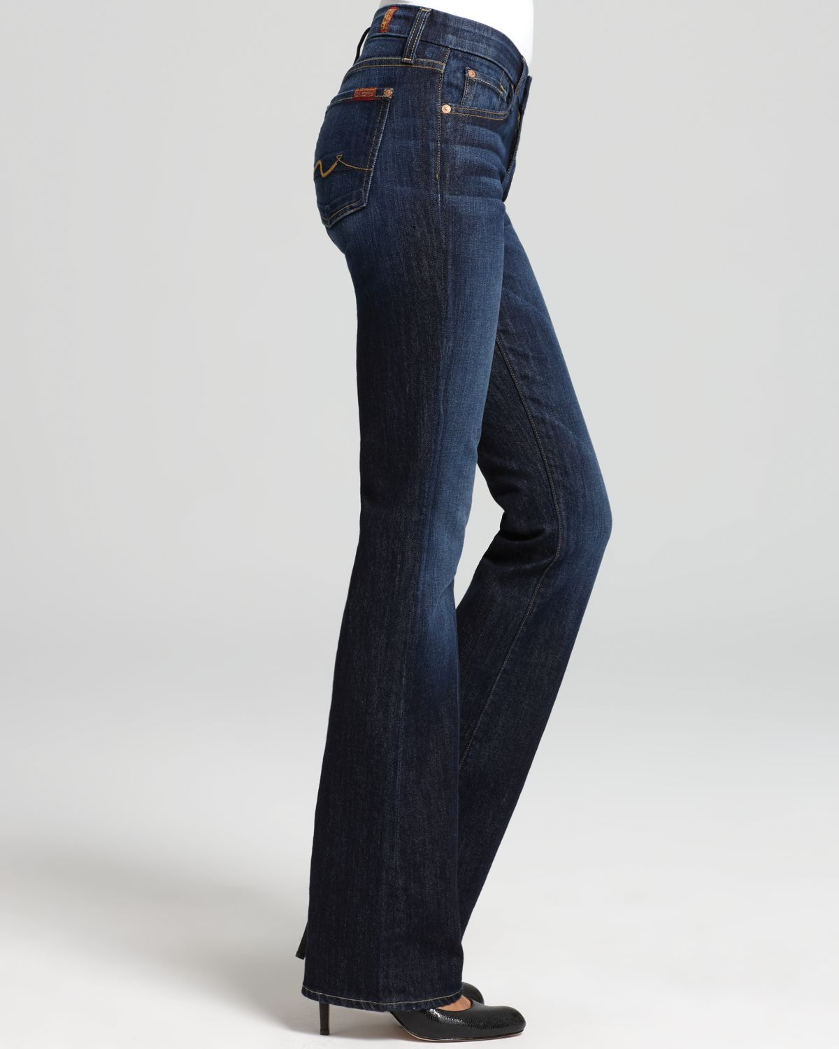 7 For All Mankind Jeans Kimmie Bootcut In Midnight New York