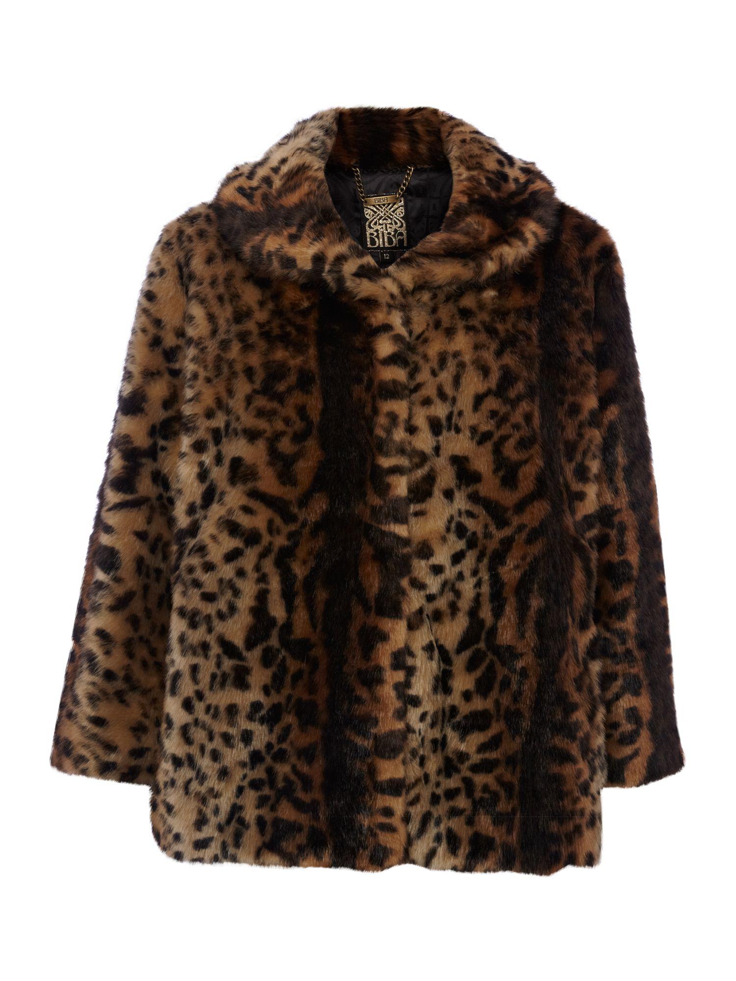 Gray Wolf Faux Fur Coat - YouTube