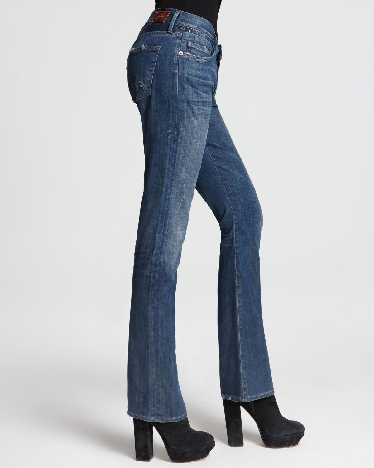 Citizens of Humanity Jeans Riley Bootcut in Crafted in Blue