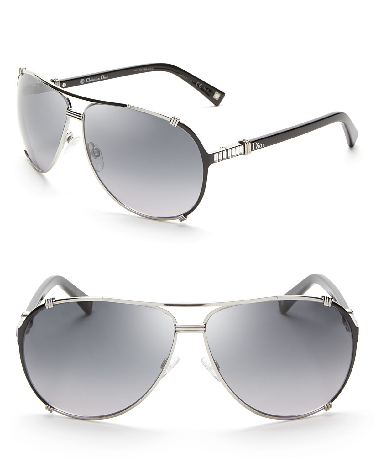 4503b6f98b39 Dior Chicago Metal Aviator Sunglasses With Crystals « Heritage Malta
