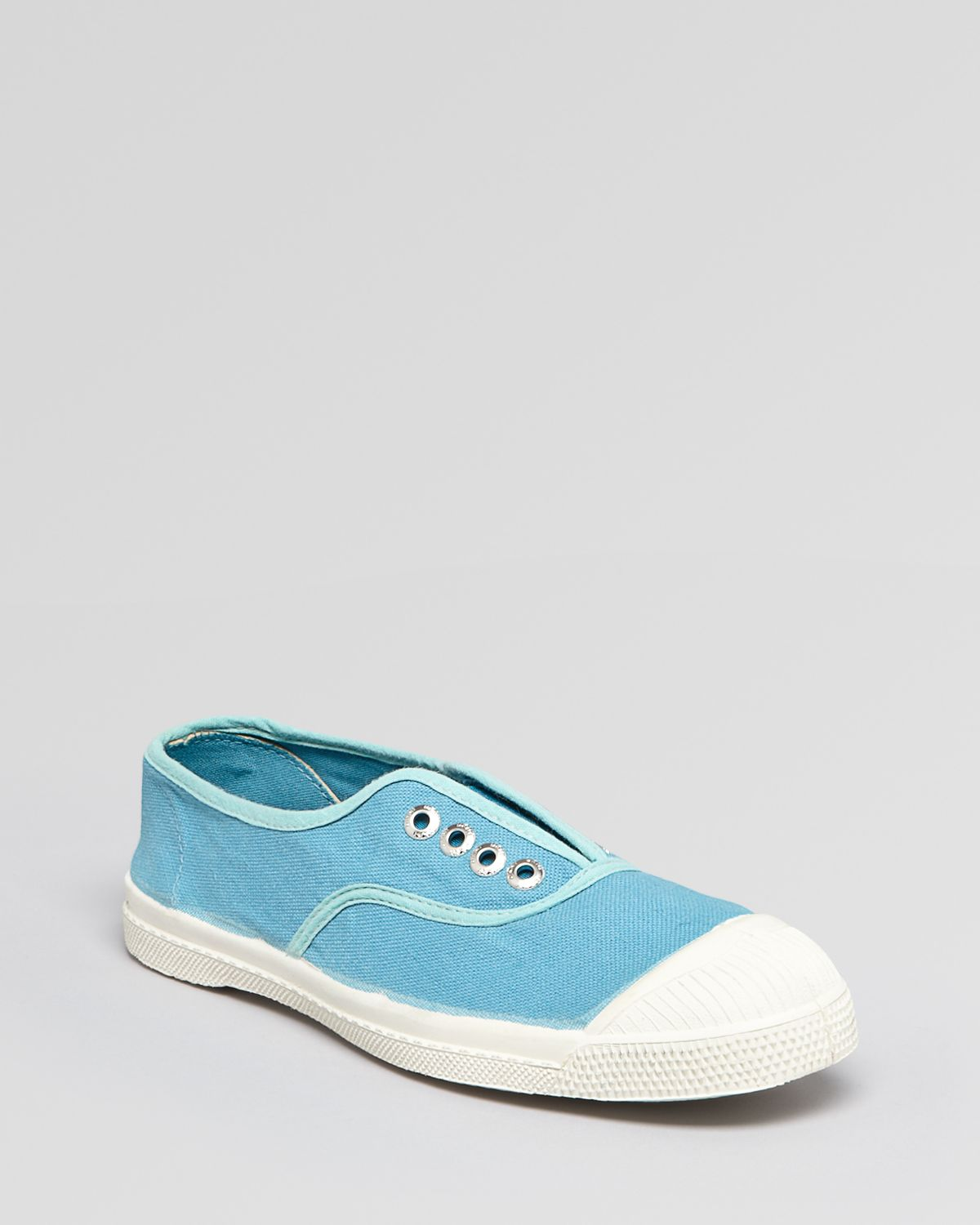 DKNY Slip On Sneakers Bensimon Tennis Elly in Turquoise (Orange)