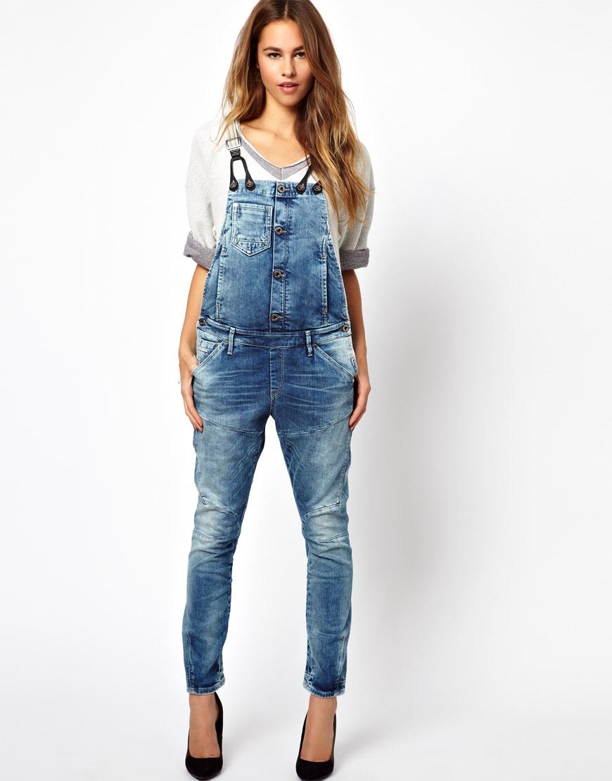 Skinny Jean Overall - Xtellar Jeans
