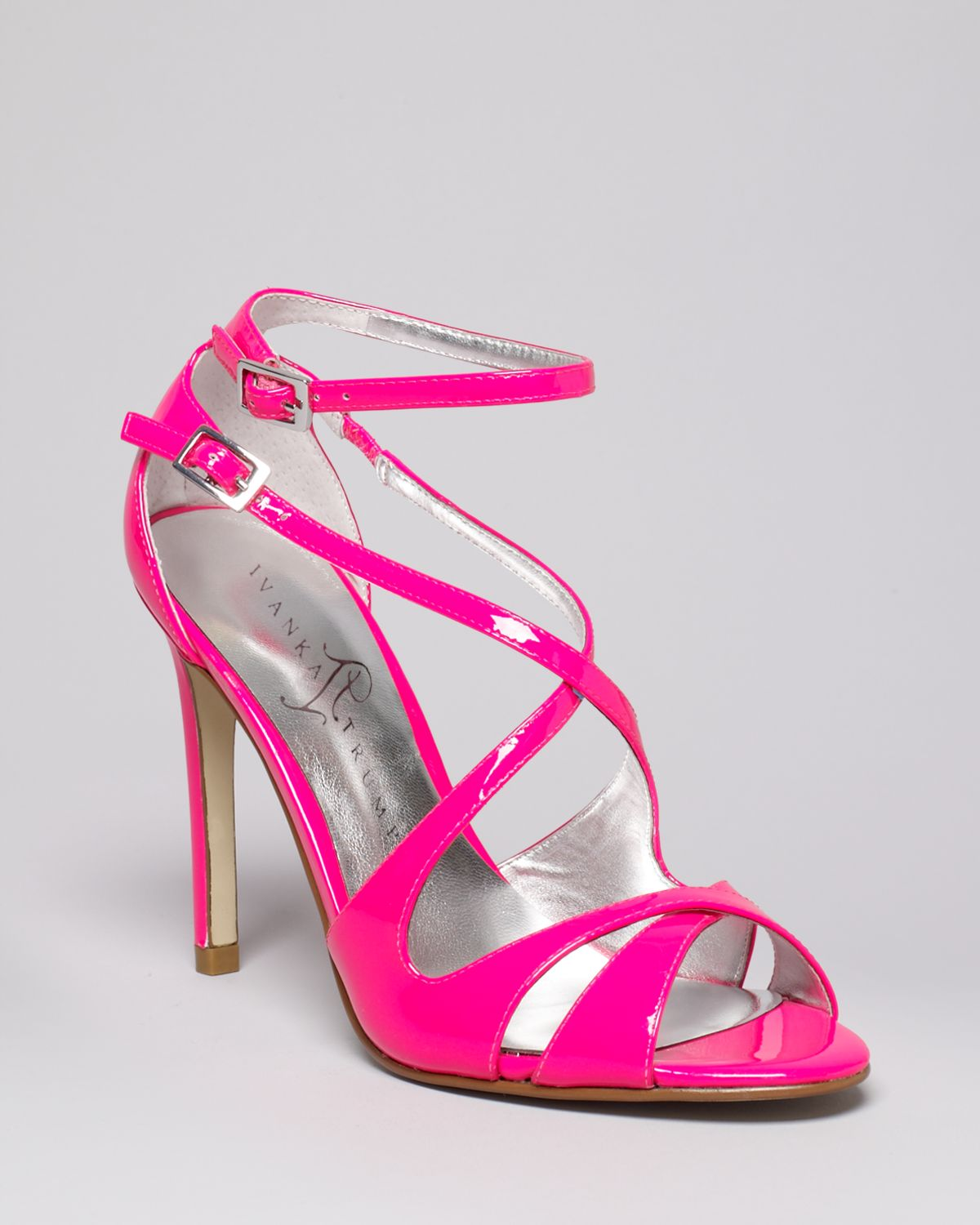 90ebdb770bca Lyst - Ivanka Trump Helice High Heel Strappy Sandals in Pink