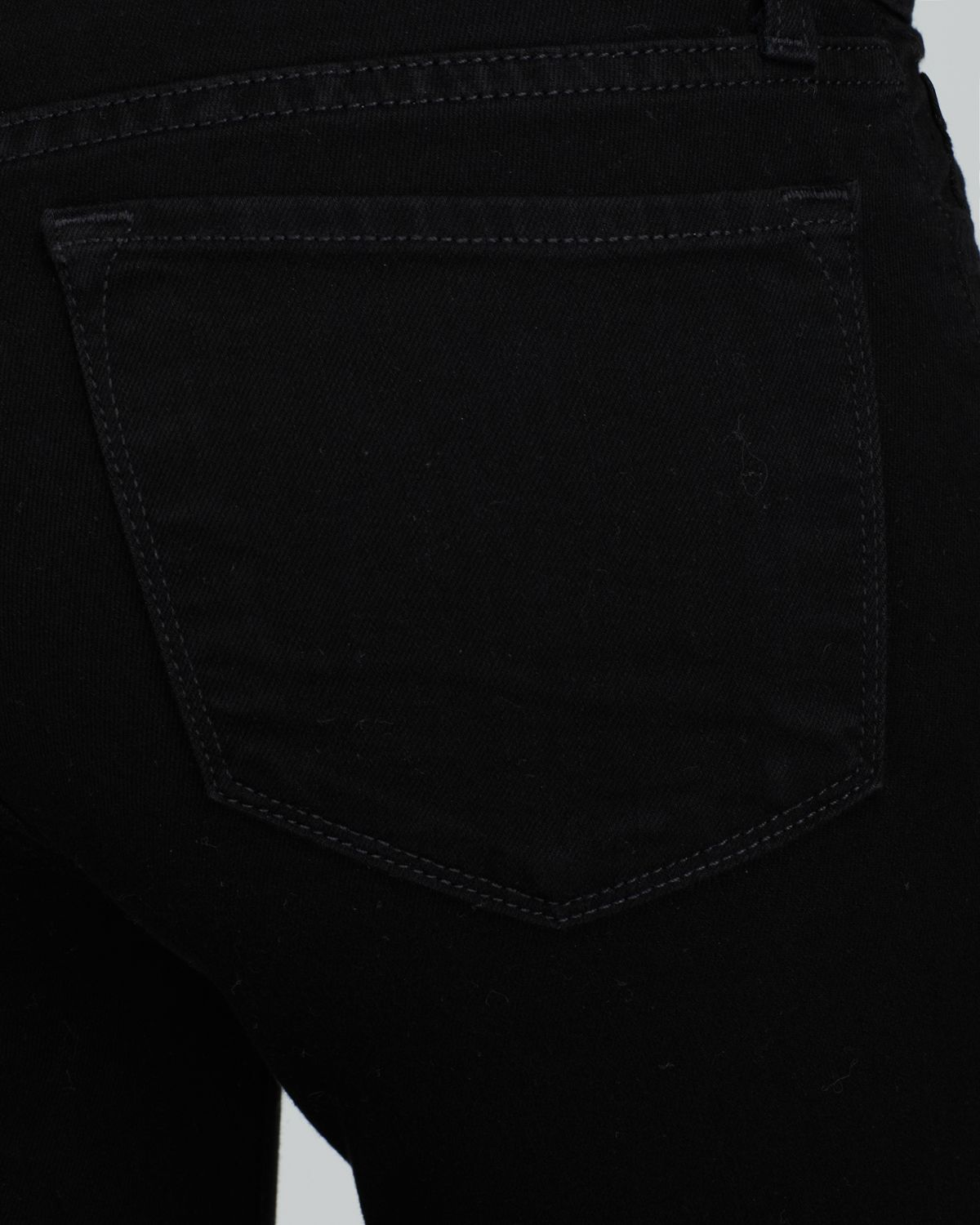 J Brand 811 Mid Rise Skinny Jeans In Shadow in Black