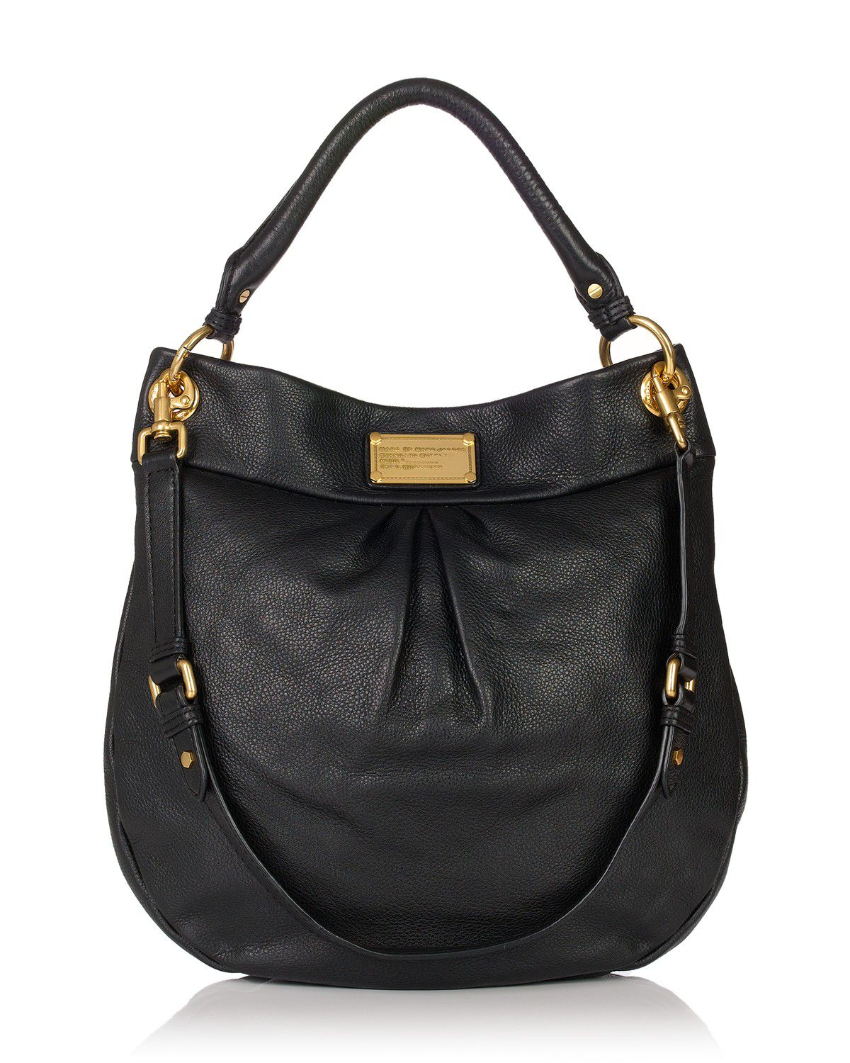 Marc Jacobs Hobo Laukku : Marc by jacobs classic q hillier hobo in black lyst