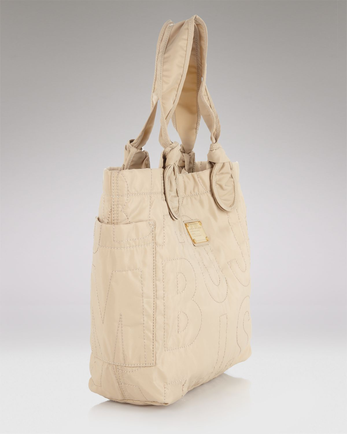 Marc By Marc Jacobs Pretty Nylon Lil Tate Tote in Grey