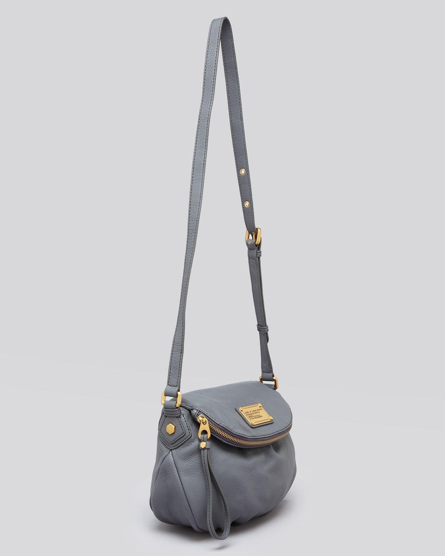 marc by marc jacobs crossbody classic q mini natasha in gray warm zinc. Black Bedroom Furniture Sets. Home Design Ideas