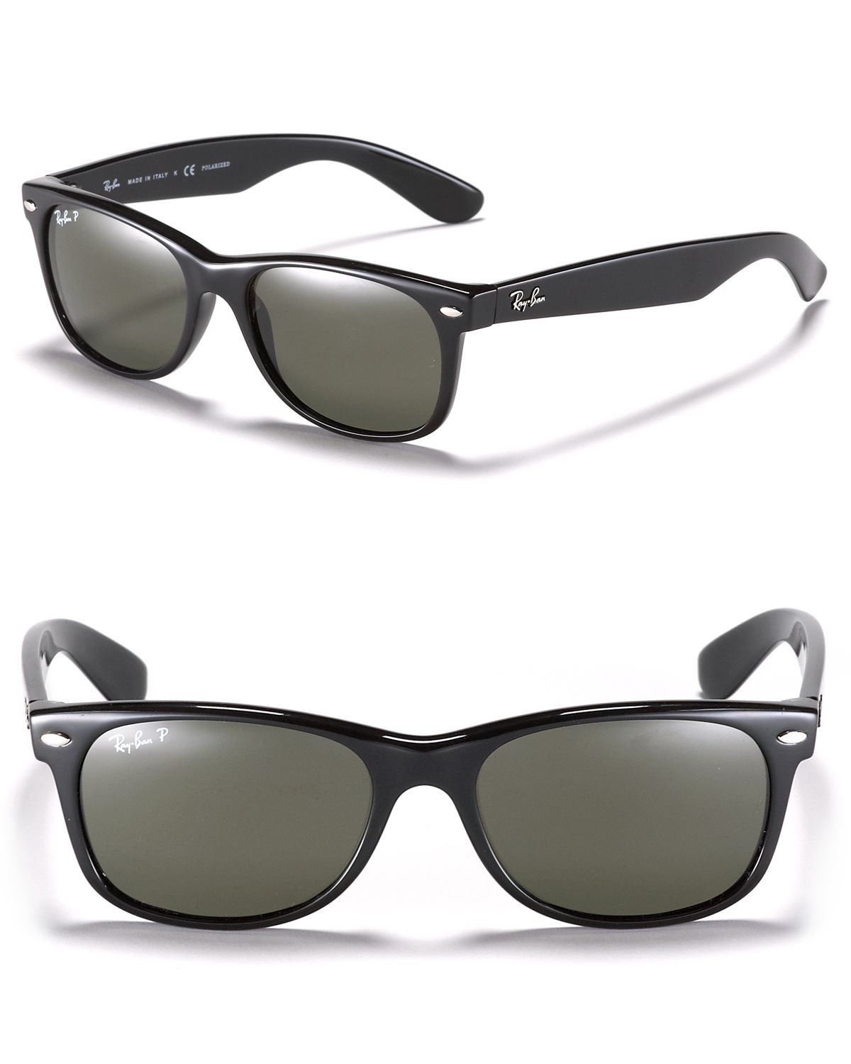 Ray Ban Black And Cream