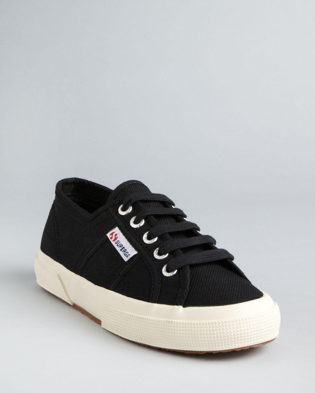 Superga: Superga Classic Canvas Sneakers In Black