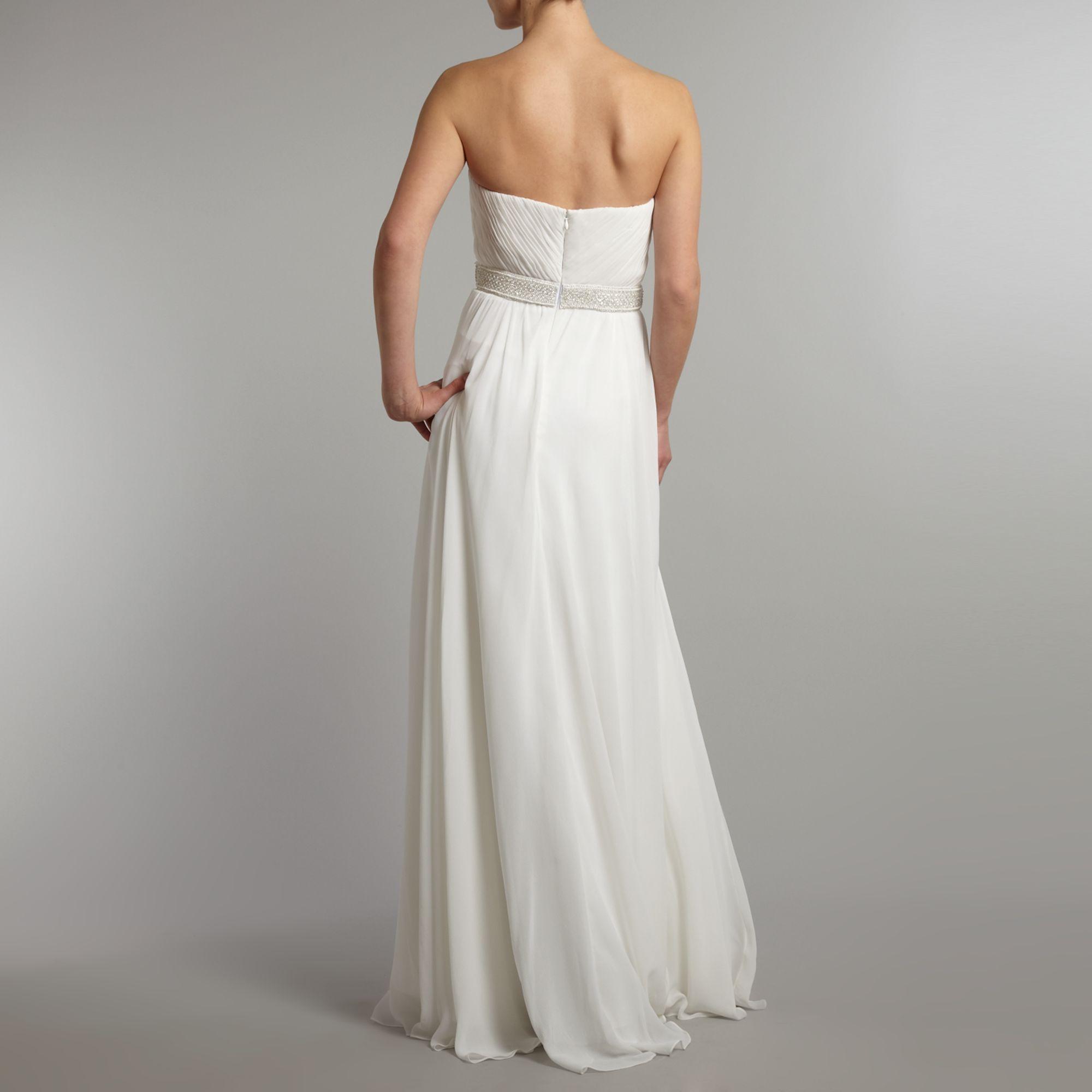 Theia Silk Chiffon Goddess Bridal Dress In White Lyst