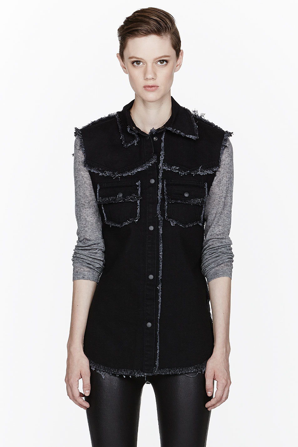 Shop affordable, unique sleeveless black vest designed by top fashion designers worldwide. Discover more latest collections of Outerwear at litastmaterlo.gq