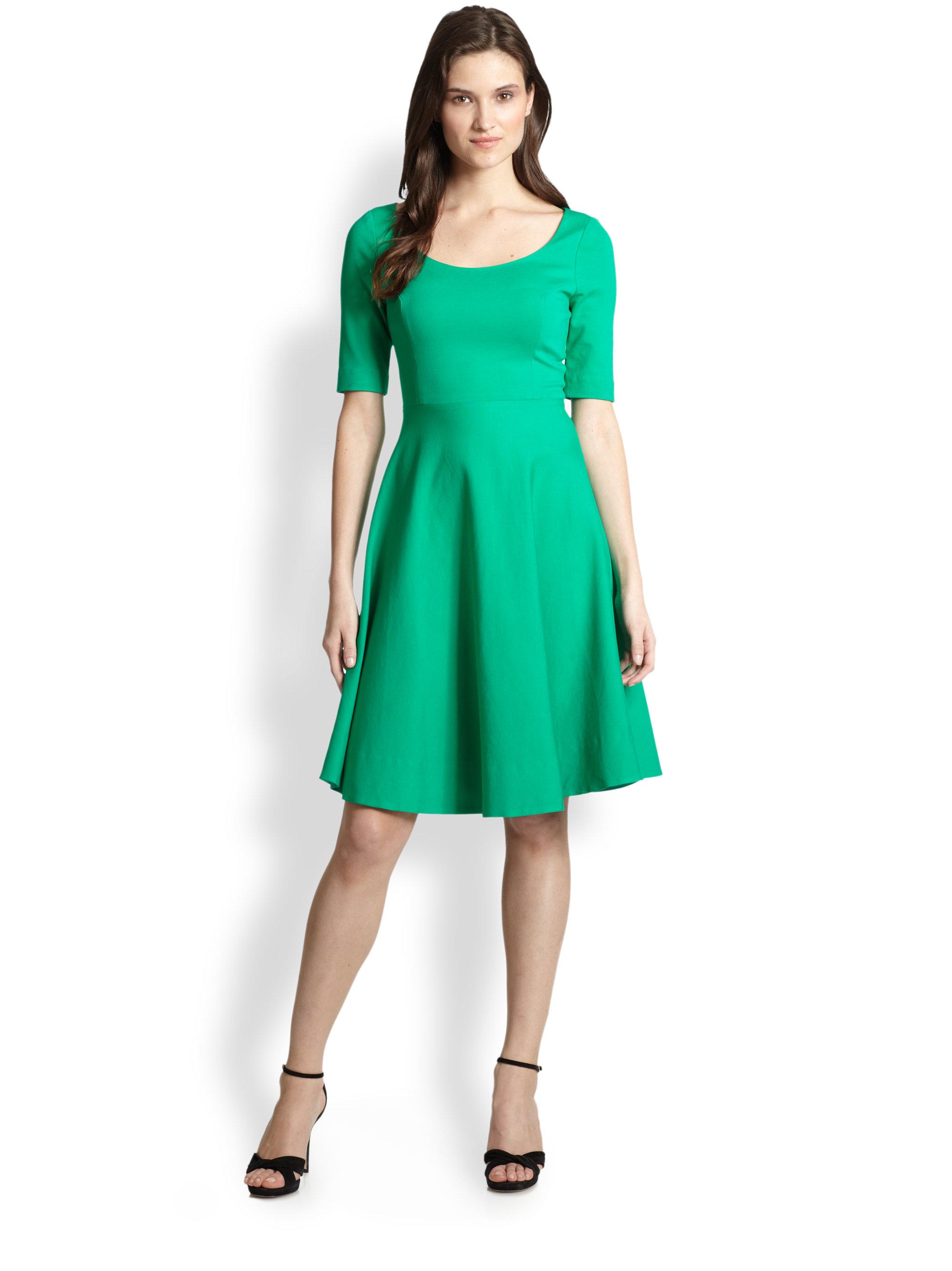 Lyst Kate Spade Jada Dress In Green